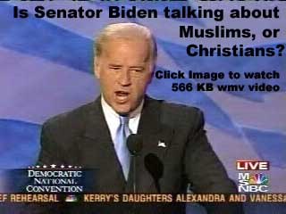 566 KB wmv file of Sen. Joe Biden's Comments at 2004 DNC