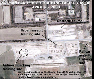 Al Qaeda Training Site Near Bagdad, Click for high resolution detailed image, 220K